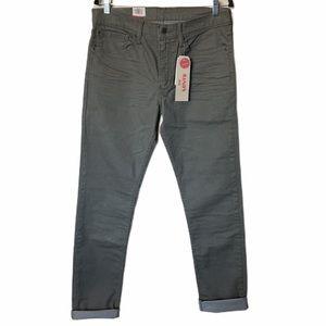 NWT Levi's 511 slim olive green pants 34 x 36